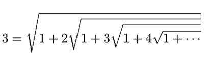 Rmanujan's formula for 3